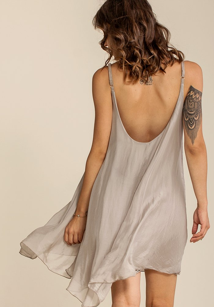Airy Joyous Sand Dress