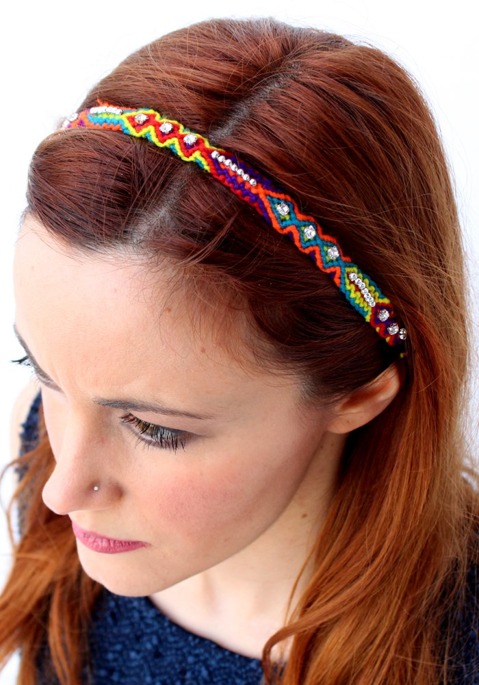 Headband Friendship with Crystals