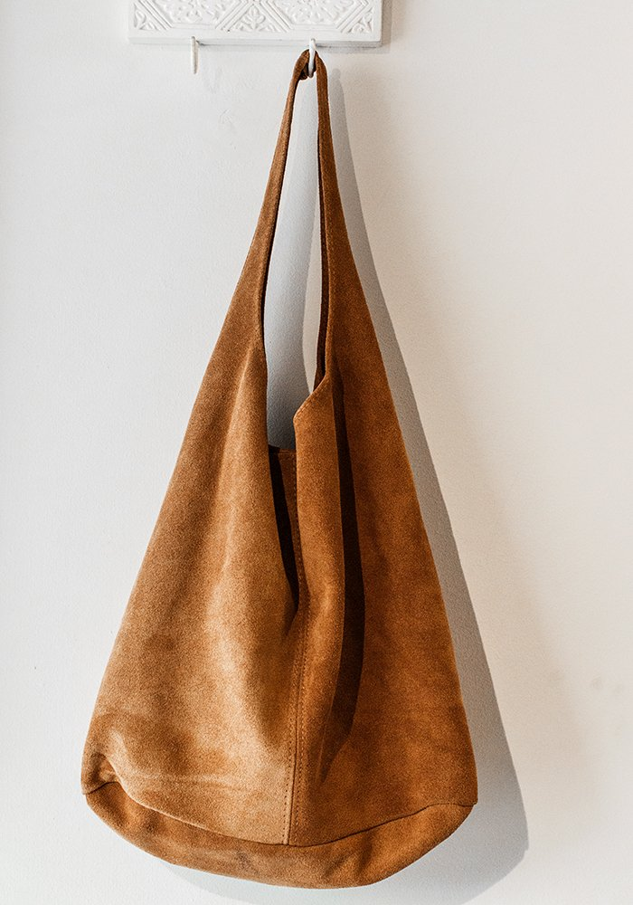Maple Leaf Slouch Hobo Bag