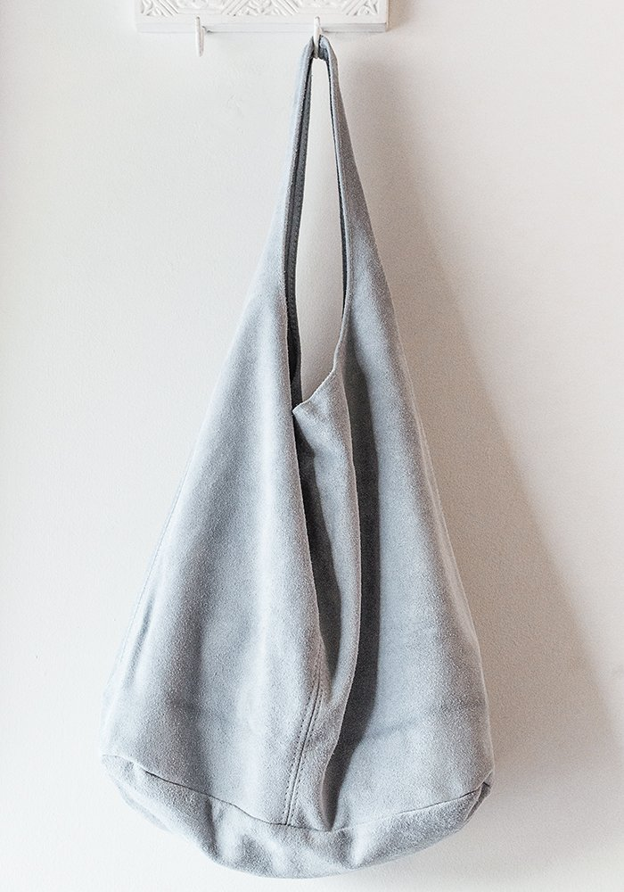 Mountain Bluebird Slouch Hobo Bag