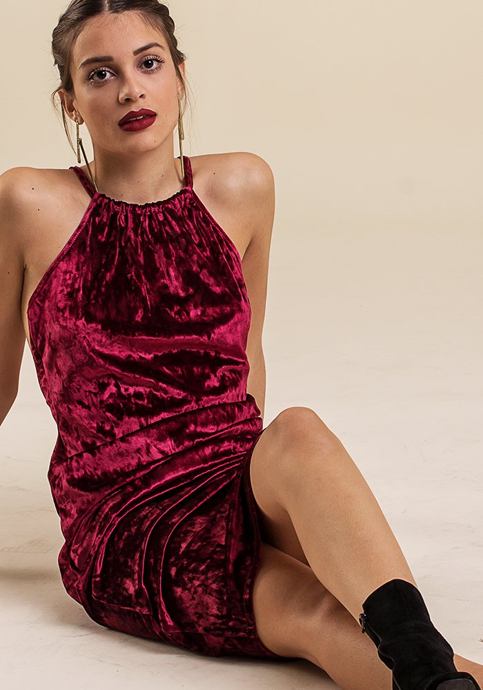 Those Velvet Lies Dress - exclusive