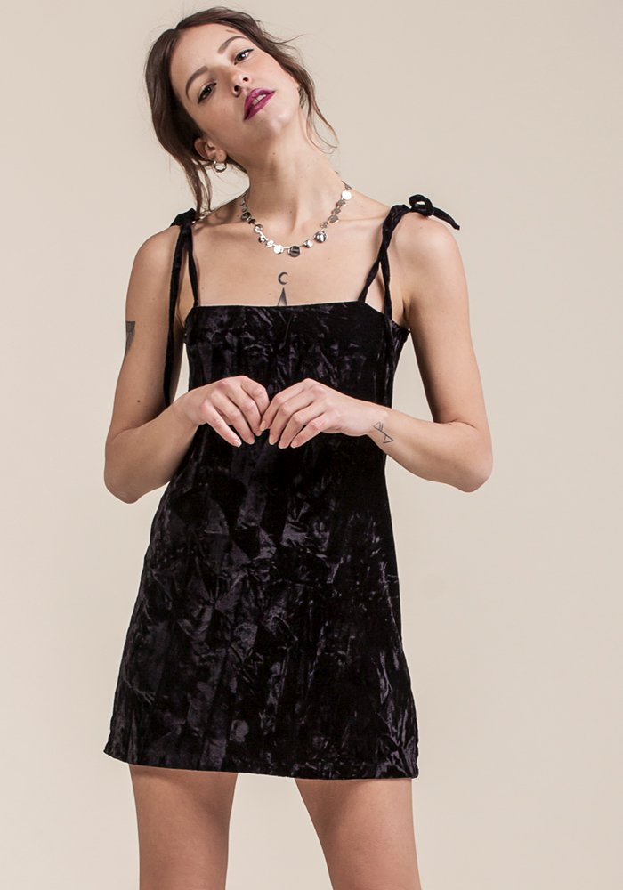 Rhum Rhum Velvet Dress - exclusive