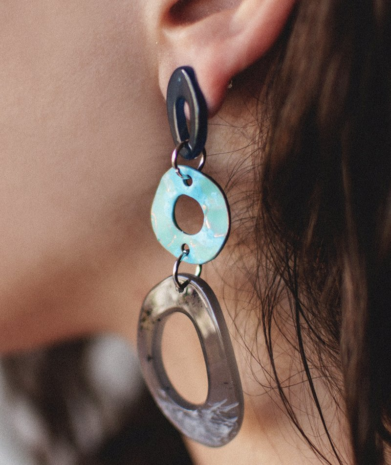 Floating in the Sea Earrings