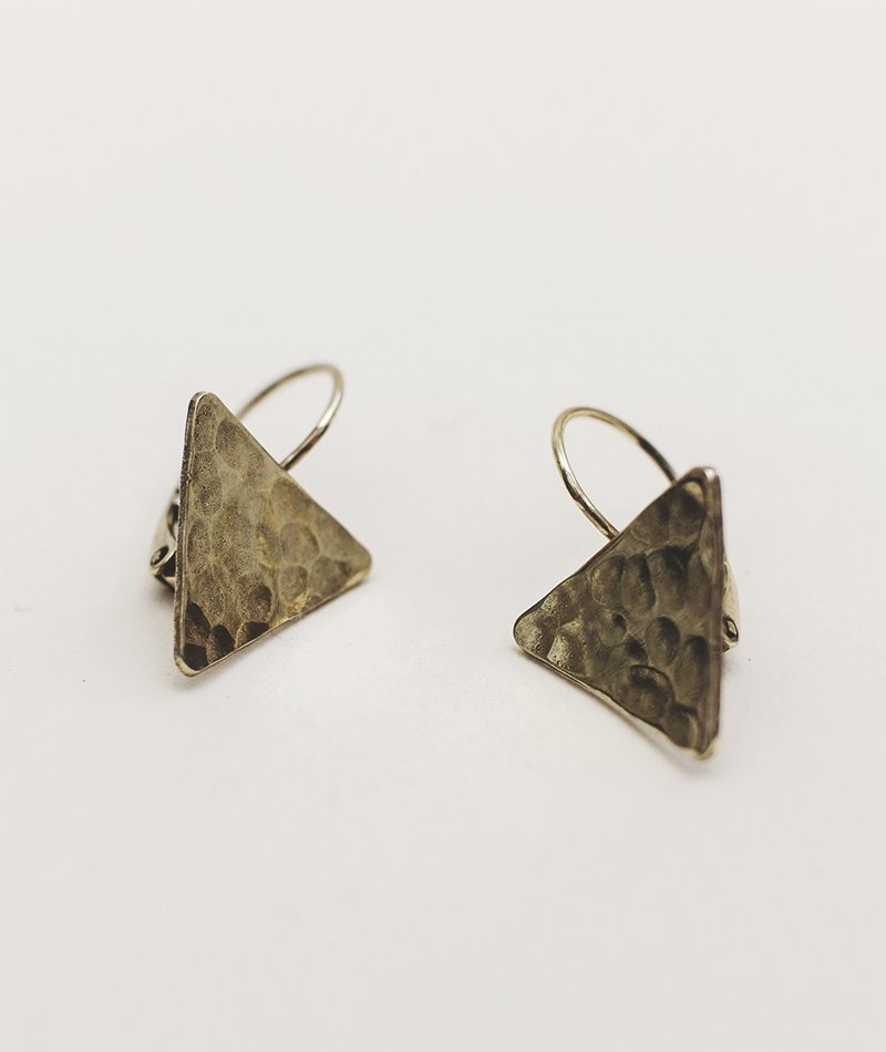 Upraise Adown Earrings - Handmade