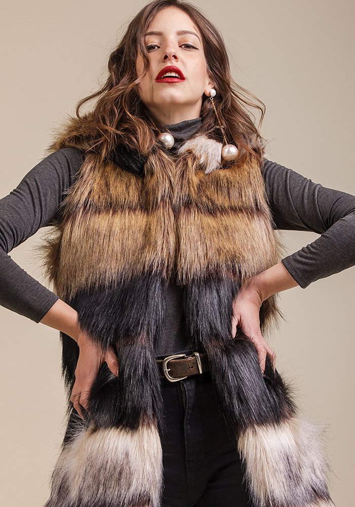 Warm Inside Faux Fur Vest