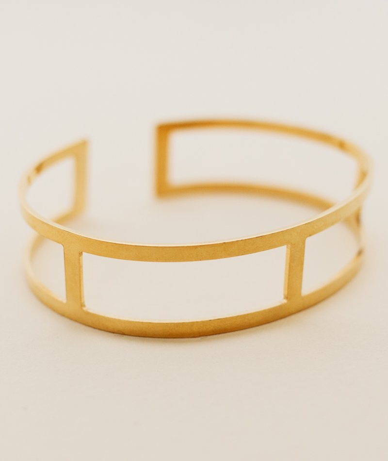 Stripes Bangle - Handmade