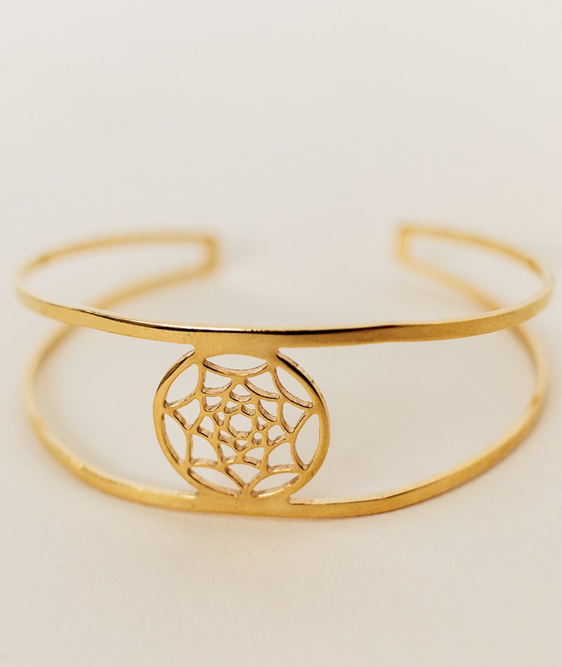 Dreamcatcher Bangle - Handmade