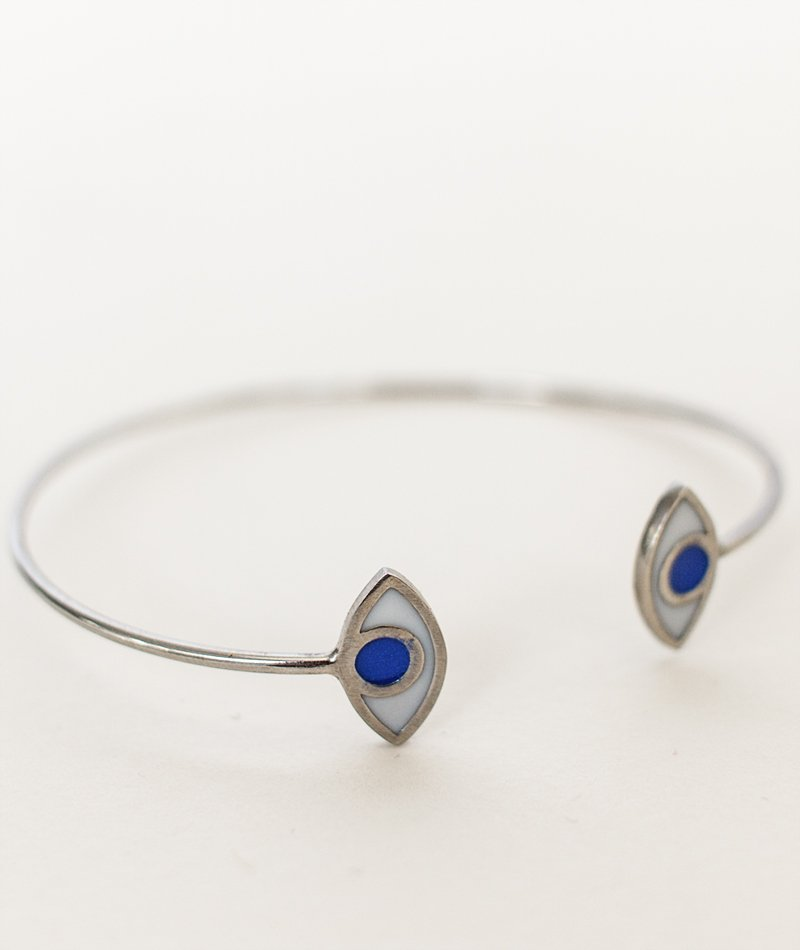 Ftou Evil Eye Bangle - Handmade