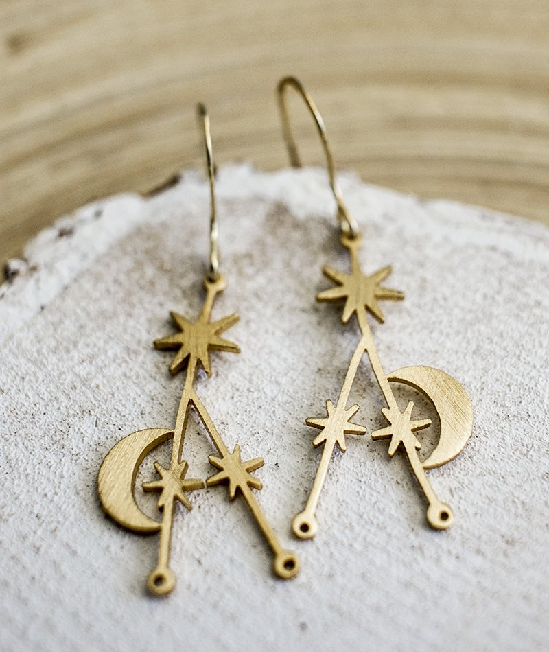 Shine on Stars Earrings