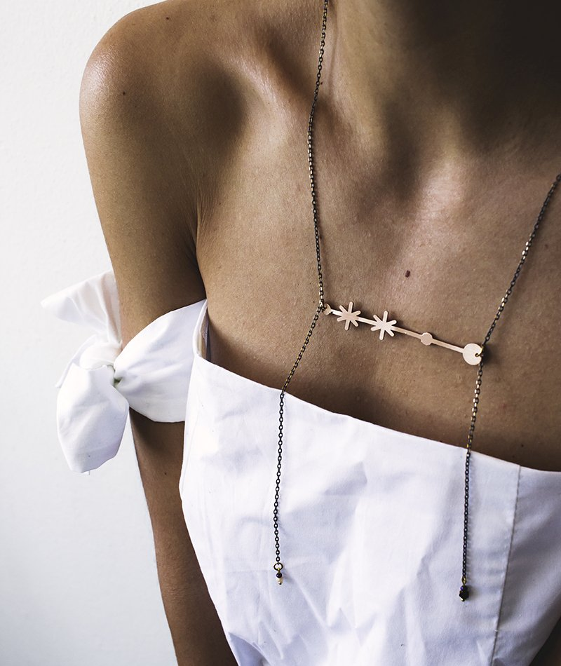 Stars on my Chest Necklace - Exclusive