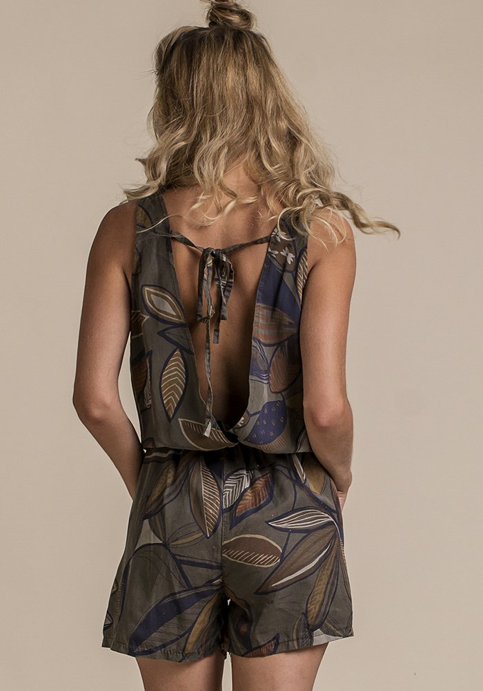 Whispers In The Jungle Romper