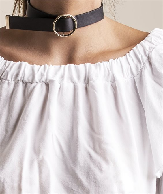 Tie me Down Choker Necklace