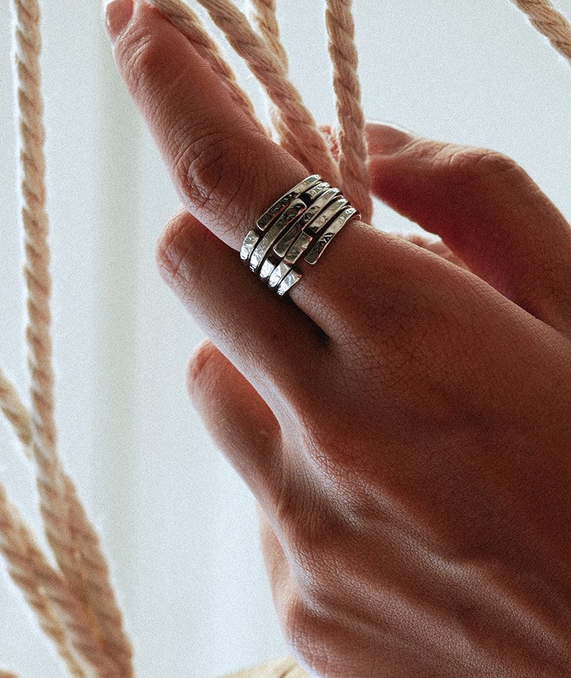 Close In On Ring - Handmade
