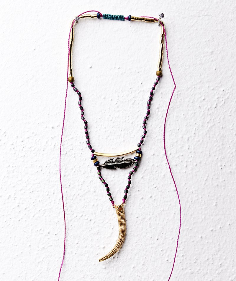 Wayra Feather Necklace