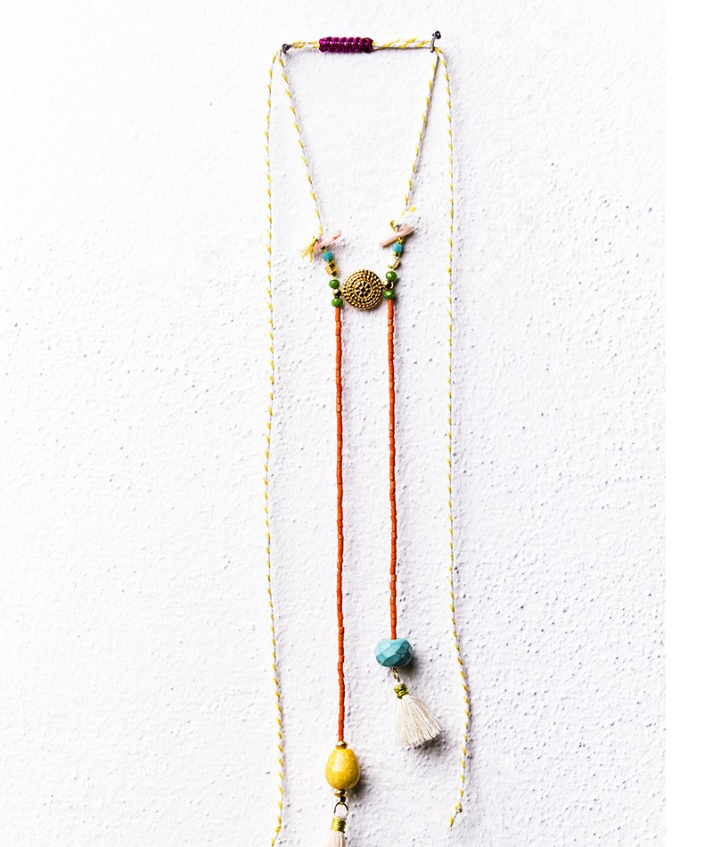 Citrus Fruits Necklace