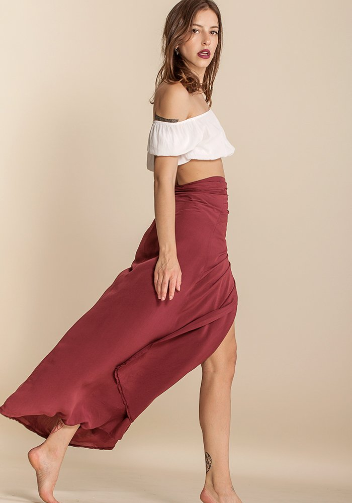 Rosewood Twine Skirt