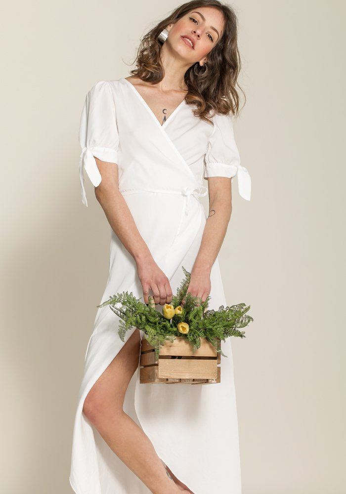 The Chloe Blanche Dress - exclusive