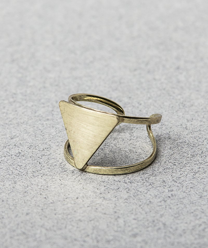 Upside Down Ring - Handmade