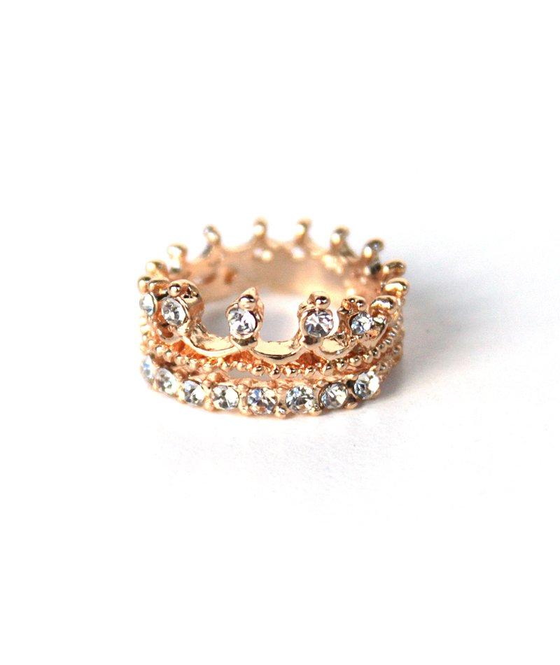 Δαχτυλίδι Κορώνα Crystalized - ΚΟΣΜΗΜΑΤΑ 952ad156164