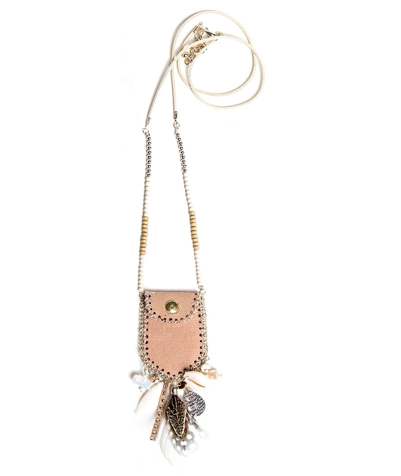 Hide n Seek Boho Necklace