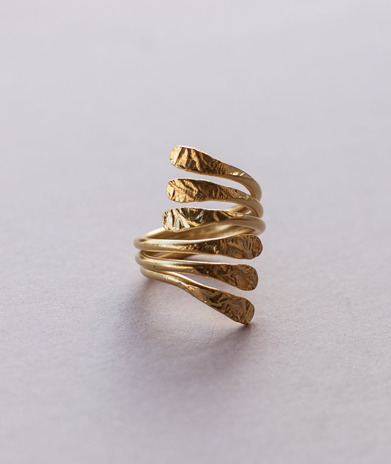 Strive for Balance Ring - Handmade