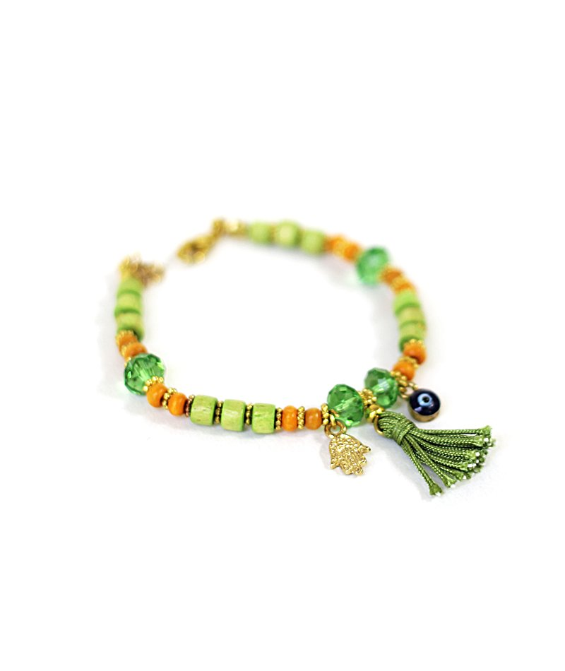 Little eye Green Bracelet
